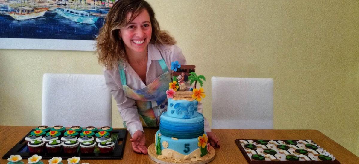 Patisserie Marrakech, gateau personnalisé, gateau d'anniversaire personnalisé
